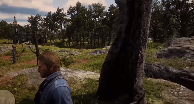 Red Dead Redemption 2 - поиск Достопримечательностей богатства сокровищ