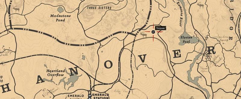Куда девать шкуру и где находятся охотники в Red Dead Redemption 2