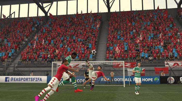 FIFA 18 - Доминируем в центре