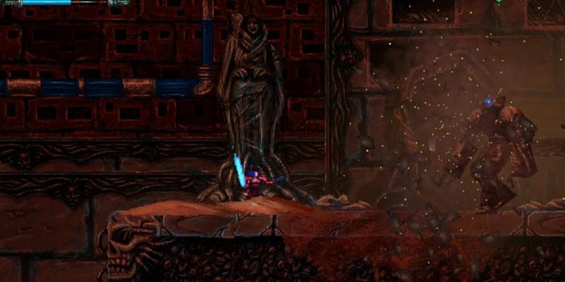 Все секреты в Valfaris, где найти кровавые металлы