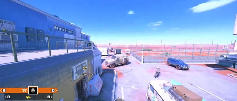 Rainbow Six Siege - точки для камер Валькирии