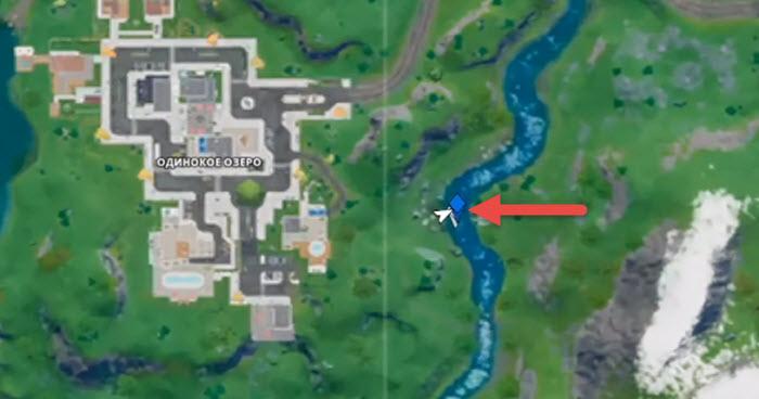 Где находятся лодки на новой карте Fortnite Глава 2