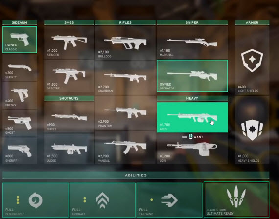 VALORANT - гайд по оружию и не только