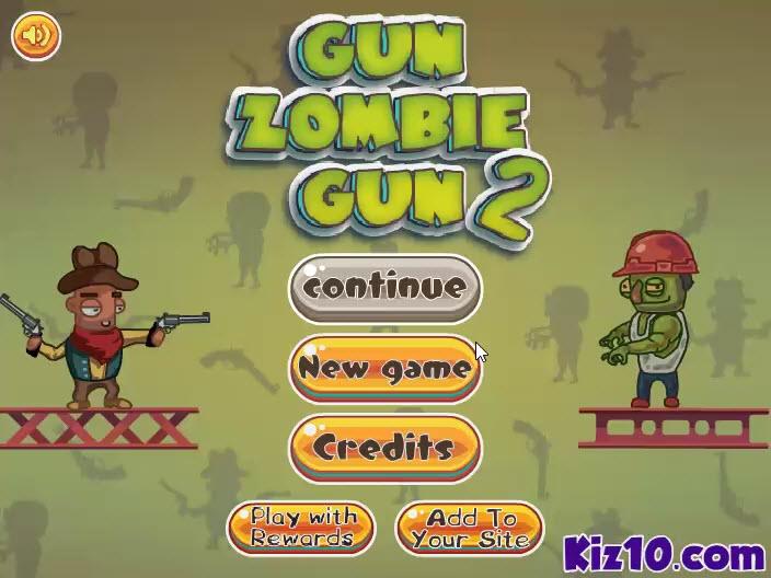 Gun Zombie Gun 2 game online