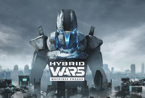 скачать игру Hybrid Wars через торрент - фото 8