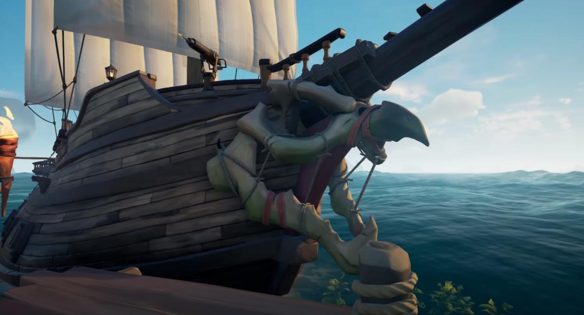 Редкие и дорогостоящие скины в Sea of Thieves