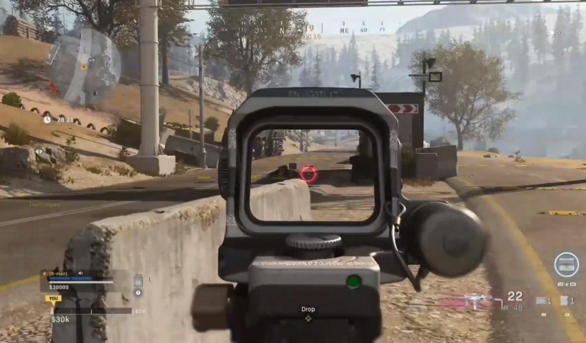 Как получить чертеж на CX-9 Serac в Call of Duty: Warzone