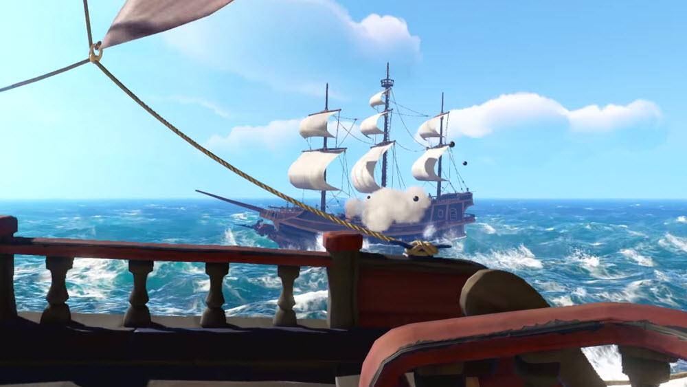 Sea of Thieves - онлайн игра на пиратскую тематику