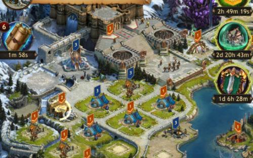 Браузерная игра Vikings War of Clans видео