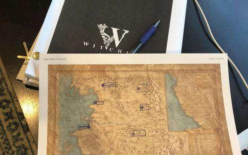 Стали известны потенциальные места действия и логотип сериала о Ведьмаке