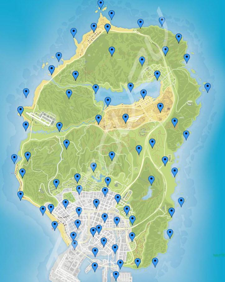 Как превратиться в животного в GTA Online и карта нахождения пейота