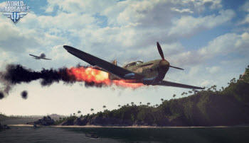 World of Warplanes Истребитель