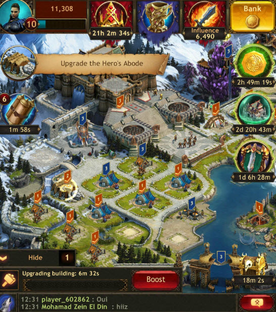 clash of kings играть в браузере
