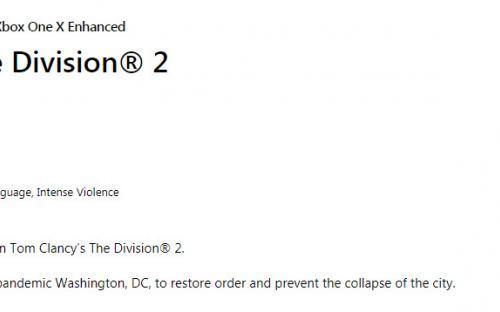 The Division 2 продают за $3. Рекордные скидки и попытка вернуть аудиторию