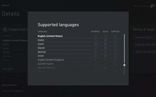 Microsoft добавила языковую статистику в свой магазин
