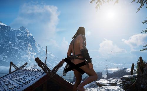 Assassin's Creed Valhalla получает первый мод, раздевающий персонажей