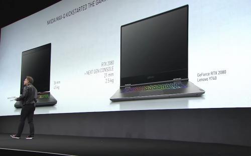 В Nvidia считают, что ноутбук с RTX 2080 будет мощнее новых консолей