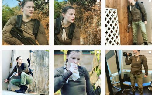 Актриса, сыгравшая Эбби из The Last of Us 2 вернулась к роли на Хэллоуин