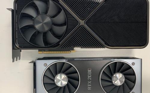 Geforce RTX 3090 оказалась значительно больше RTX 2080