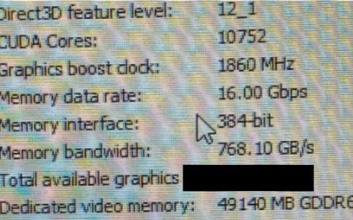 Слух: Nvidia готовит видеокарту на 48 Гб видеопамяти