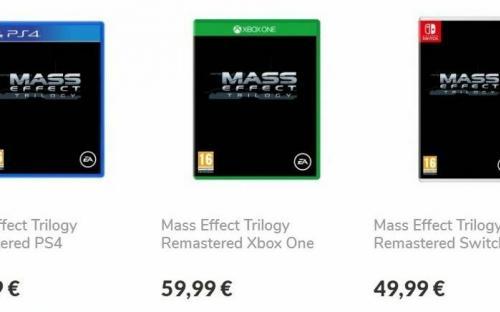 Ремастер трилогии Mass Effect появился в предзаказах. Всё-таки сборник скоро выйдет