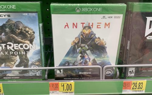 Anthem уже продают за $1. Игра оказалась никому не нужна