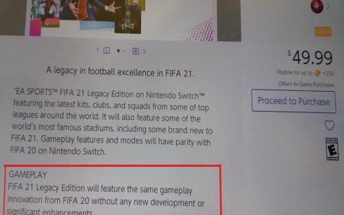 В EA признались, что FIFA 21 – то же самое, что FIFA 20