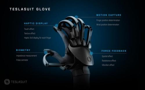 Геймеры хотят медицинскую VR-перчатку Teslasuit