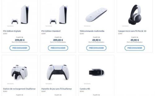 43 000 и 35 000 рублей за PlayStation 5. Во Франции открыли предзаказы