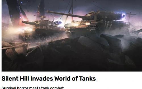 Silent Hill по ошибке «внедрили» в World of Tanks