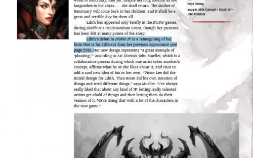 Первая подробность Diablo 4 из того самого альбома с рисунками