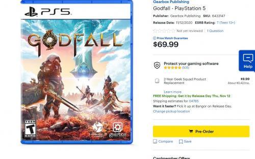 GTA 5 и Godfall неприятно удивляют ценами в версии для PS 5