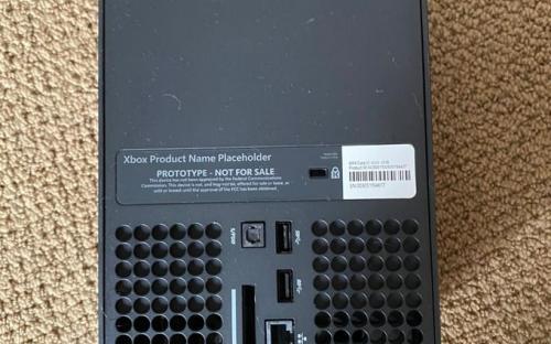 В Сеть слили первые фото новой Xbox