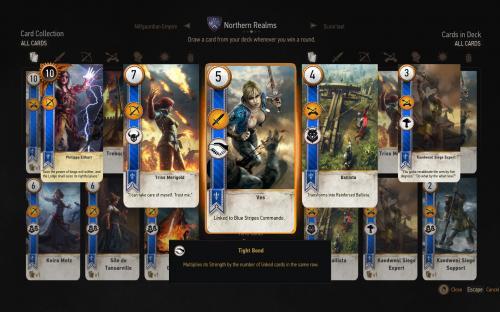 Гвинт из третьего Ведьмака получил мод на 60 новых карт и новые механики