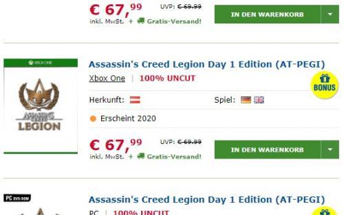 Assassin's Creed: Legion – новая утечка будущей части