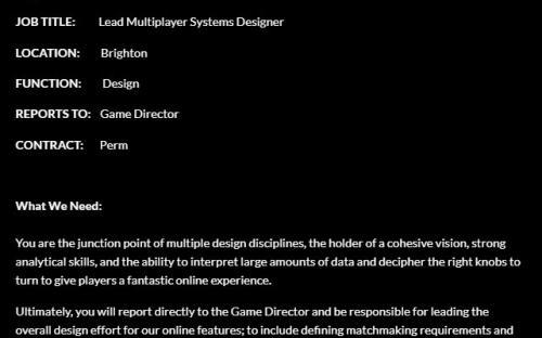 В будущей игре Hangar 13 будет мультиплеер и подбор игроков