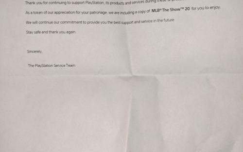Sony удивила владельца сломанной PlayStation 4