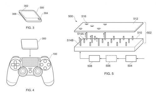 Sony может добавить панель со шрифтом Брайля на DualShock