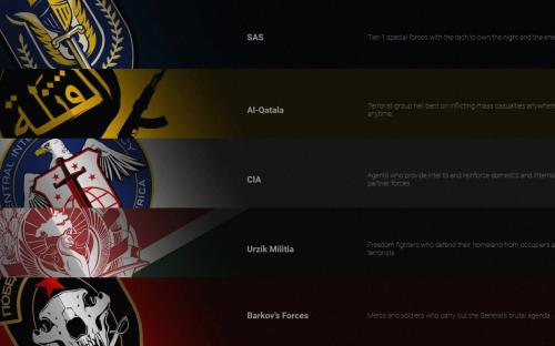 Стали известны все фракции Call of Duty: Modern Warfare