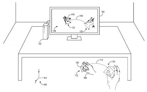 Для Xbox Scarlett? Microsoft патентует VR-коврик, стилус и контроллер движения