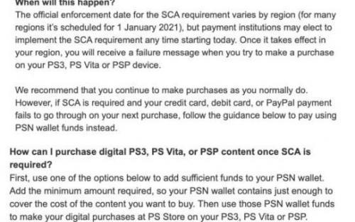 Sony отказывается от денег, усложняя жизнь владельцам PS 3, PSP и PS Vita