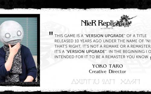 Йоко Таро сомневается в успехе NieR Replicant ver.1.22474487139