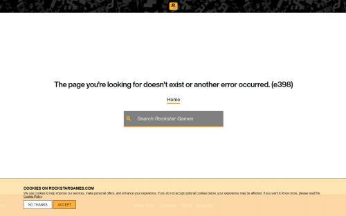 Загадочная страница на сайте Rockstar дала повод поговорить о GTA 6