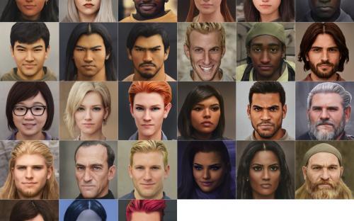 На Reddit выложили фотореалистичные портреты героев Overwatch