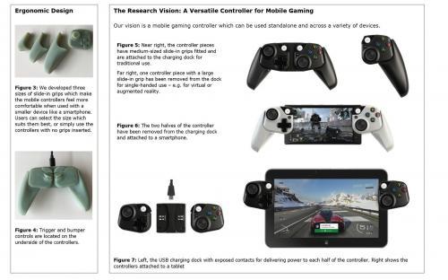 Microsoft патентует новый контроллер